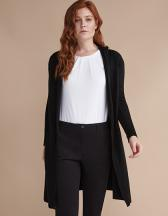 Ladies Longline Open Cardigan