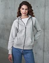 Ladies` Fashion Full Zip Hood