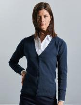 Ladies´ V-Neck Knitted Cardigan