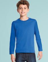 Kids` Long Sleeves Tee Shirt Vintage