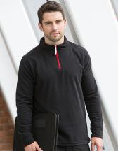 1/4 Zip Piped Microfleece